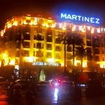 Photo taken at Grand Hyatt Cannes Hotel Martinez by Slava on 5/22/2013