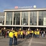 Photo taken at Dortmund Hauptbahnhof by Linda K. on 10/21/2012