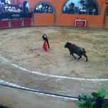 Photo taken at Plaza de Toros Arroyo by Vannesa on 10/20/2012