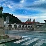 Photo taken at Zmajski most / Dragon Bridge by @swemeatballs78 on 6/8/2013