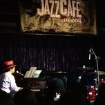 Photo taken at Jazz Cafe by Francesca on 11/11/2012