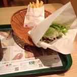 Photo taken at ミスタードーナツ 竹の塚ショップ by Hironobu S. on 5/2/2014