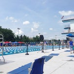 Photo taken at Penn State Outdoor Pool by Olivier S. on 6/29/2014