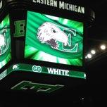 Photo taken at Eastern Michigan University by Sarah on 4/15/2013
