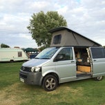 Photo taken at St Neots Camping and Caravanning Club Site by Drw S. on 8/4/2014