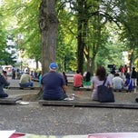 Photo taken at South Park Blocks by Beth H. on 8/9/2014