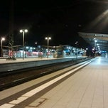 Photo taken at Bahnhof Bruchsal by Karlsruher2 on 9/30/2012