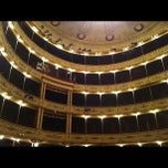 Photo taken at Teatro Solís by Barbara on 11/4/2012