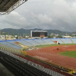 Photo taken at Hasely Crawford Stadium by (ha)SanMan _. on 10/21/2013
