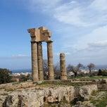 Photo taken at Αρχαιο Σταδιο - Hellenistic Stadium by Irene on 3/13/2013