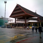 Photo taken at Sepinggan International Airport (BPN) by Meylia R. on 2/14/2013