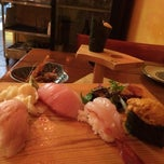 Photo taken at Amberjack Sushi by gennarator on 1/31/2014