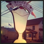 Photo taken at Muller's Old Fashioned Ice Cream Parlor by Andrea N. on 9/2/2013