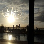 Photo taken at Zimer beach by Marouane J. on 1/17/2015