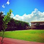 Photo taken at Southwestern University by Peter C. on 11/6/2012