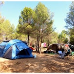 Photo taken at Camping Sierra de Maria by David P. on 8/16/2014