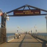 Photo taken at Belmont Veterans Memorial Pier by Ester Maria L. on 7/9/2013