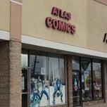 Photo taken at Atlas Comics by Javier C. on 5/4/2013