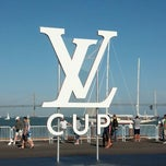 Photo taken at America's Cup Pavilion by Meghan K. on 7/5/2013