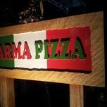 Photo taken at Parma Pizza by Fernanda L. on 12/26/2012