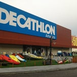 Photo taken at Decathlon by Tiago Q. on 12/20/2012