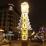 Photo taken at Laimas Pulkstenis | Laima clock by Robert H. on 12/20/2012