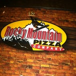 Photo taken at Rocky Mountain Pizza by Miriam R. on 1/29/2013