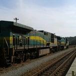 Photo taken at Estação Ferroviária Intendente Câmara (EFVM) by Régis C. on 9/24/2012