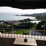 Photo taken at Hotel Romazzino, Costa Smeralda by Orhan K. on 10/12/2014