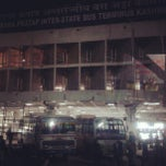 Photo taken at ISBT Kashmere Gate by Inna F. on 2/26/2013