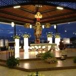 Photo taken at Templo De San Rafael by Abigail on 10/1/2012