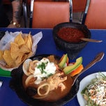 Photo taken at Los Molcajetes Mexican Restaurant by Anthony B. on 7/13/2014