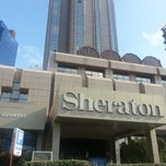 Photo taken at Sheraton İstanbul Maslak Hotel by Özüm U. on 7/17/2013