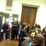 Photo taken at Sapienza - Facoltà di Filosofia by Giulio R. on 12/18/2012