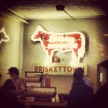 Photo taken at Delaney Barbecue: BrisketTown by Siobhan on 12/6/2012