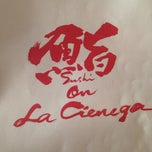 Photo taken at Sushi On La Cienega by Doug M. on 9/21/2014