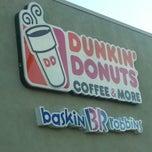 Photo taken at Dunkin Donuts by Eliana Marisol V. on 2/24/2013
