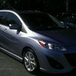 Photo taken at Ourisman Hyundai/Mazda by Ariel A. on 10/8/2011