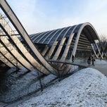 Photo taken at Zentrum Paul Klee by Klimentiy on 1/18/2013