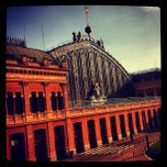 Photo taken at Estación de Madrid-Puerta de Atocha by Julián M. on 9/10/2013