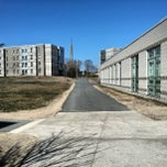 Photo taken at UMass Dartmouth Woodland Commons by Manchun W. on 4/8/2013