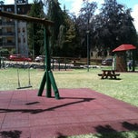 Photo taken at Parco Giochi Comunale by Nick on 8/4/2013