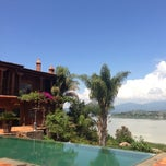 Photo taken at Hacienda Ucazanaztacua Hotel Boutique by Claudia on 8/2/2013