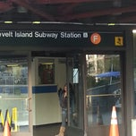 Photo taken at MTA Subway - Roosevelt Island (F) by Steve D. on 4/22/2013