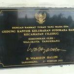 Photo taken at Kantor Kecamatan Ciledug - Kota Tangerang by Reza A. on 5/17/2013