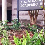 Photo taken at Alexander Academic Building - ALXA by Hinds C. on 12/6/2012