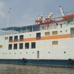 Photo taken at Pelabuhan Tanjung Buton Riau by Meliat Haryandi K. on 4/18/2013