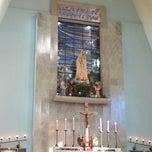 Photo taken at Igreja Nossa Senhora de Fátima e São Jorge by Cyntia K. on 5/5/2013