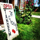 Photo taken at Tandem Ciders by Ashtyn B. on 8/3/2013