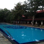 Photo taken at Swimming Pool by Nokkaew M. on 1/31/2013